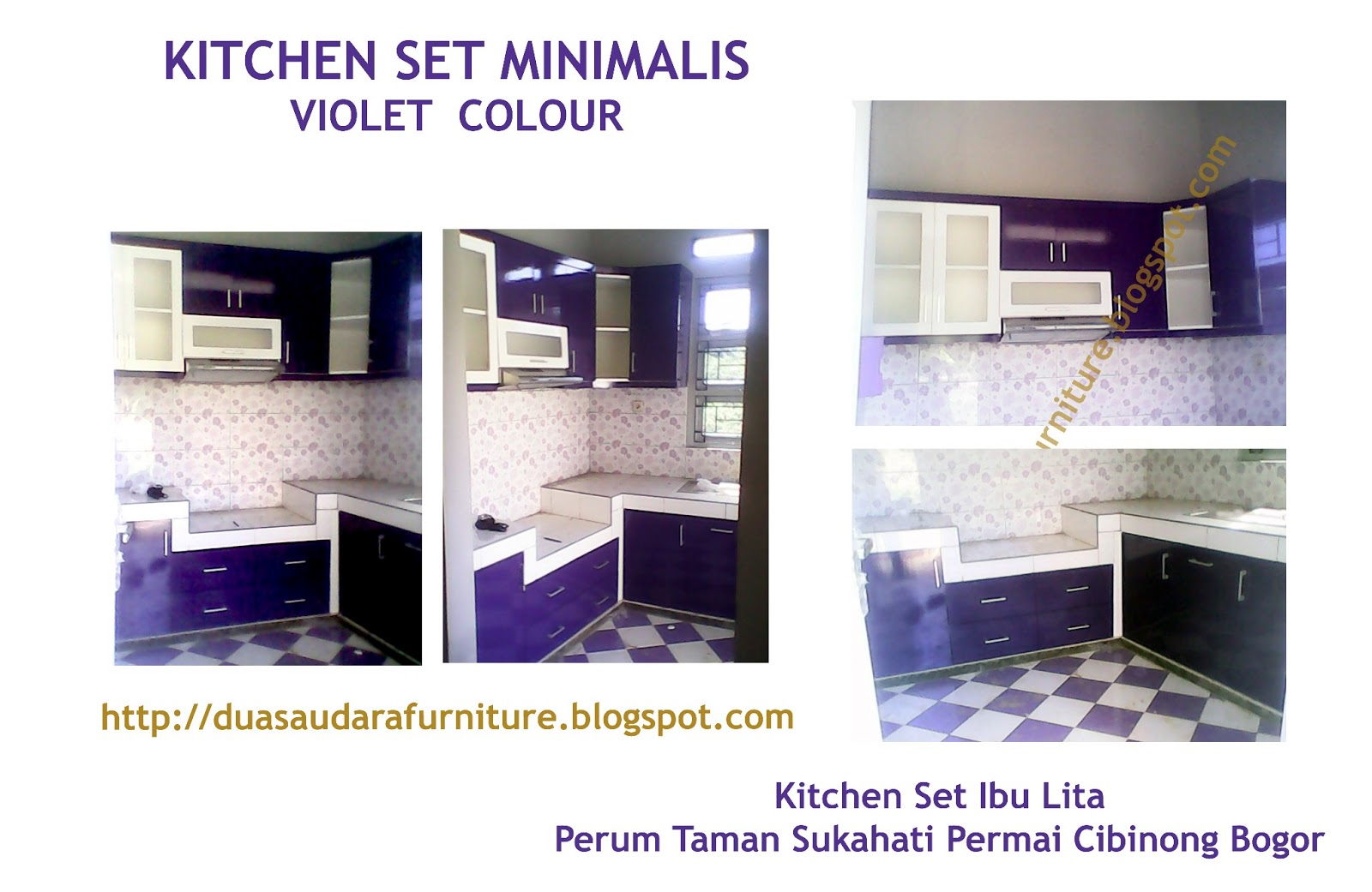 Hendri Design Furniture Depok Kitchen Set Minimalis