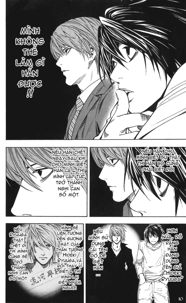 Death Note chapter 019 trang 11