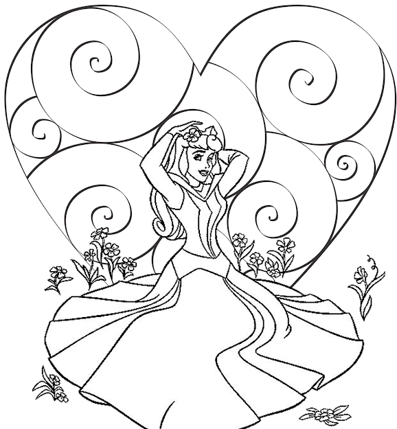 Disney Printable Coloring Pages Kids With Print Out Picture