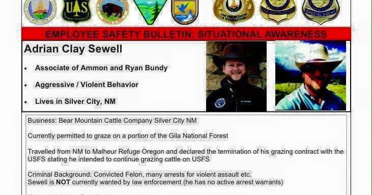 THE WESTERNER: Forest Service Bulletin On Adrian Sewell