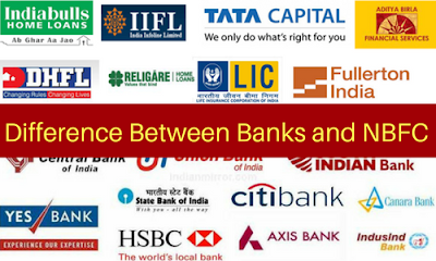 Difference Between Banks and NBFC