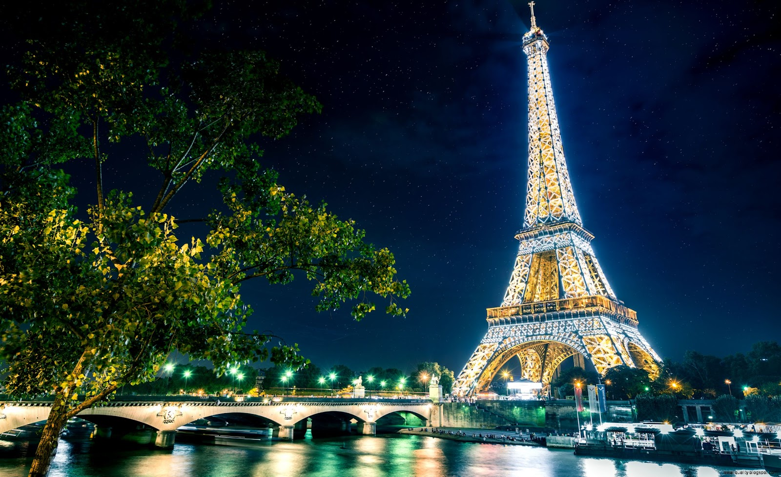 Paris Winter Eiffel Tower Hd Wallpapers