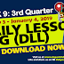 NEW!! WEEK 9 - 3rd Quarter DLL (January 3 - 4, 2019) ALL GRADES Updated!!