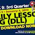 NEW!! WEEK 9 - 3rd Quarter DLL (January 3 - 4, 2019) ALL GRADES Updated!!
