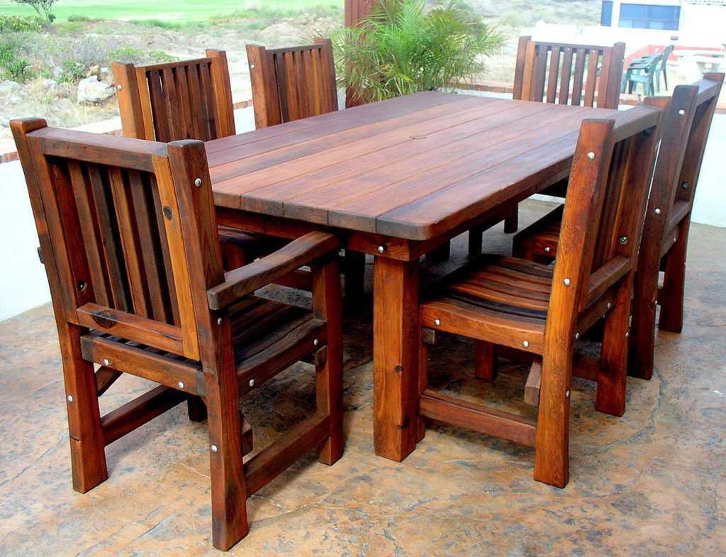 model kursi kayu modern
