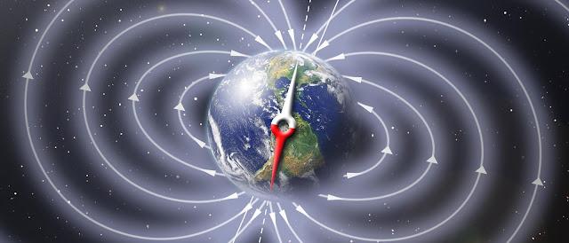 Resultado de imagen de Campos Magnéticos de la Tierra
