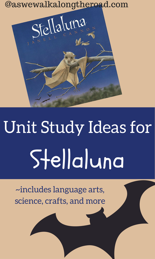 Unit Study Ideas For Stellaluna By Janell Cannon As We
