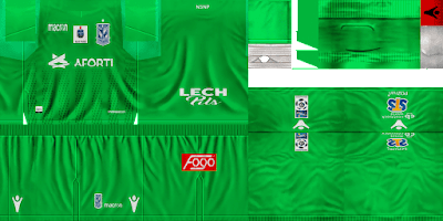 PES 6 Kits Lech Poznań Season 2018/2019 by GoofyOG