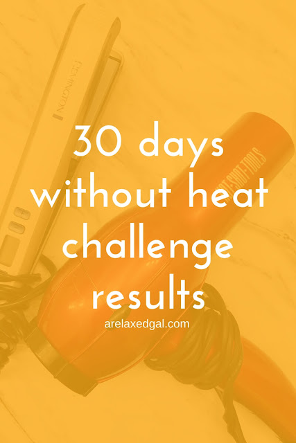 See the results on my relaxed hair from participating in a 30 days without heat challenge. | arelaxedgla.com