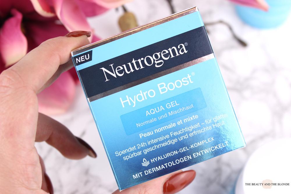 Neutrogena Hydro Boost Aqua Gel Packaging Verpackung