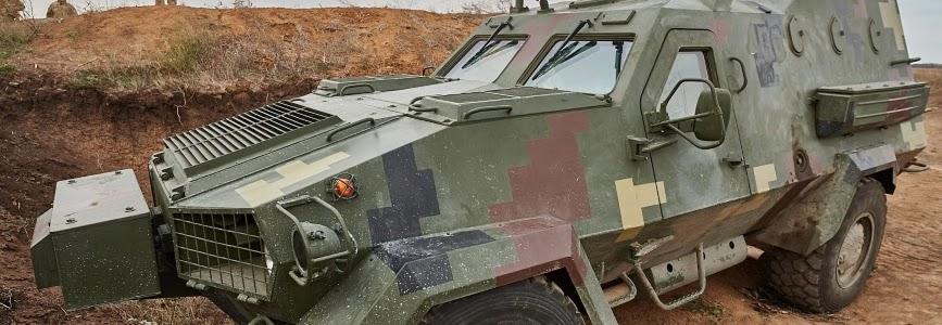 Бронемашину Дозор-Б прийнято на озброєння ЗСУ
