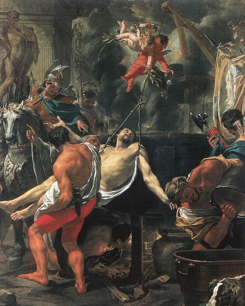 New Liturgical Movement: The Feast of St John at the Latin Gate