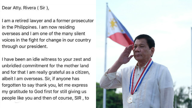 An Open Letter to the Filipino People and to the World