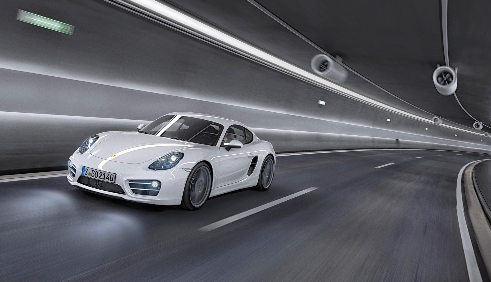 Porsche Cayman HD Photo