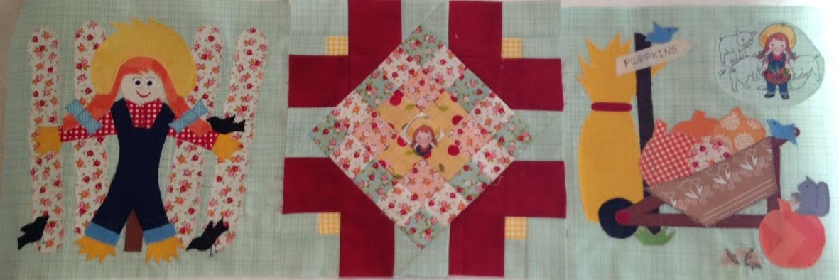 "For my free "" In Our Garden"" September Block Patterns"