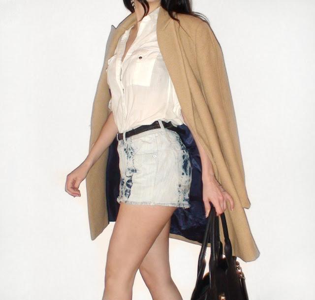 camel coat outfit pinterest