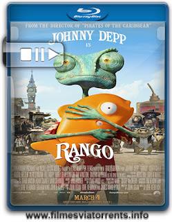 Rango (Versão Estendida) Torrent - BluRay Rip 720p | 1080p Dual Áudio 5.1 (2011)