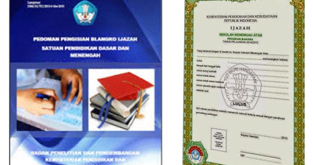 Download Juknis Penulisan Ijazah Sd Sma Smk Dan Paket File Sekolah
