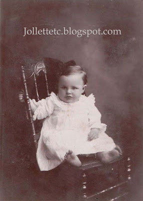 Unidentified Baby in album of Mary Frances Jollett Davis  https://jollettetc.blogspot.com