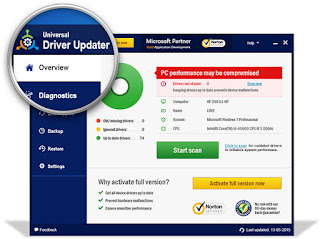 free downoad universal driver updater terbaru full version, crack, keygen, patch, serial number, license code, activation code, activator, key gratis 2016