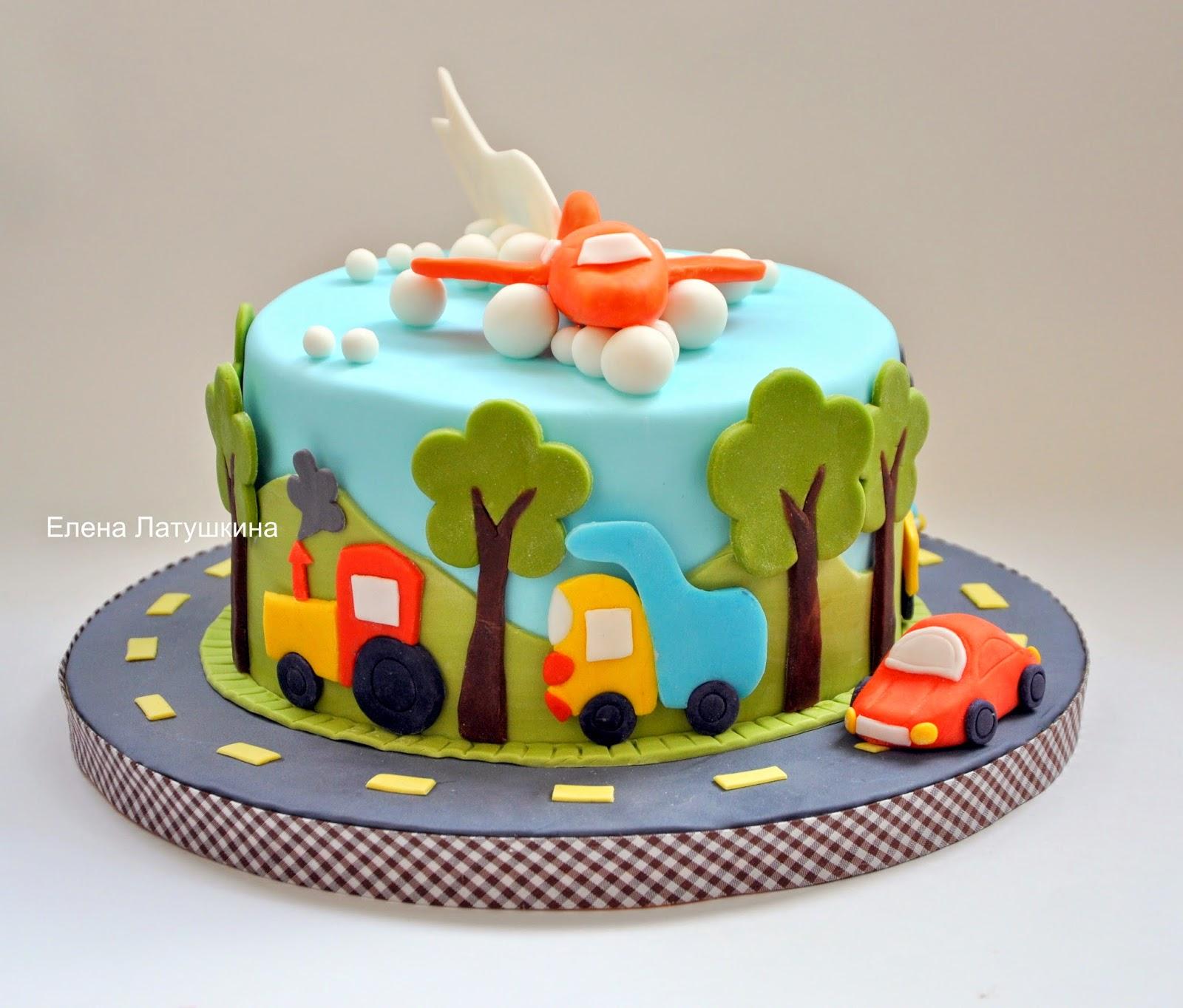 Sweet and not Sweet: Тортики для мальчиков маленьких и ...