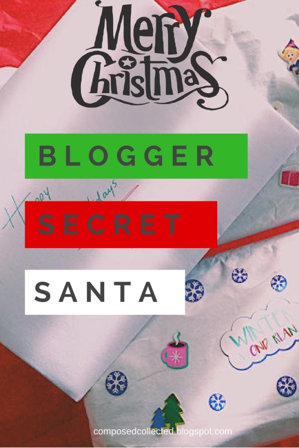 bloggers secret santa