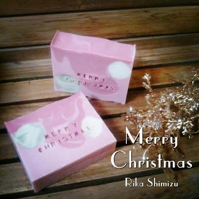クリスマス気分は日常から!オシャレな石鹸で盛り上げよう!!「Merry Christmas」