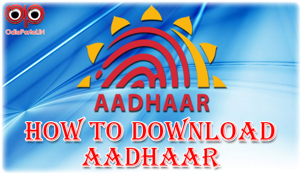 Trick: How To Download E-Aadhaar Card From Internet (Complete Step, Odia)