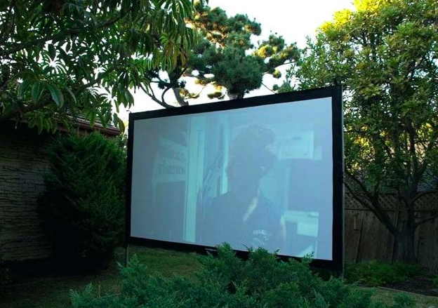 Daylight Projection Screen Outdoor