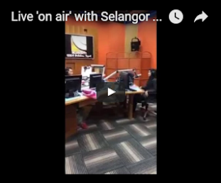 Live 'on air' di konti radio selangor fm (8 mac 2017)