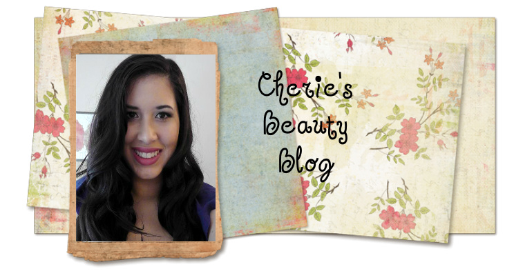 Cherie's Beauty Blog