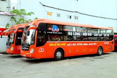 bus pour Hanoi- Lao Cai sapa