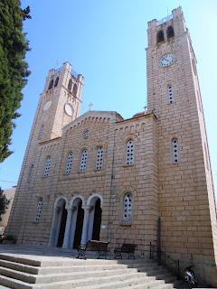 ο ναός του αγίου Νικολάου στην Αίγινα