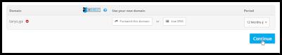 Dapatkan 5 Domain berikut (.TK .ML .GA .CF .GQ) secara Gratis (100% Free)