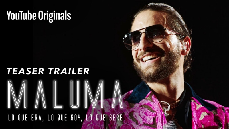 El primer trailer del documental de Maluma