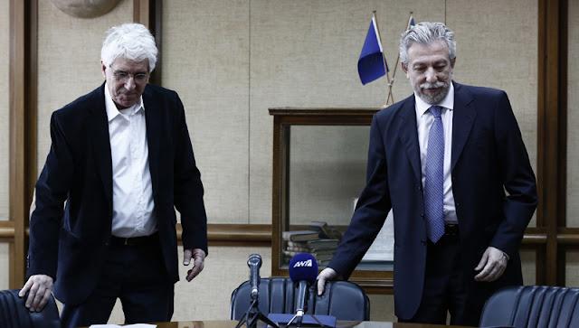 Κοντονής: Έρχεται «εκλογίκευση» στις ποινές των δικαστηρίων - Παρασκευόπουλος: Να καταργηθεί ο νόμος μου για τις αποφυλακίσεις (βίντεο)