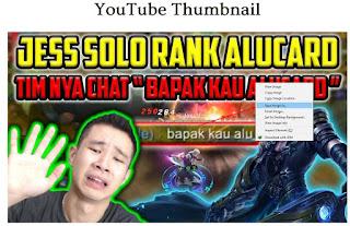 Cara Mudah Mendapatkan Thumbnail Video Youtube