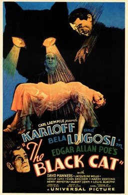 The Black Cat (1934), Edgar Allan Poe on film