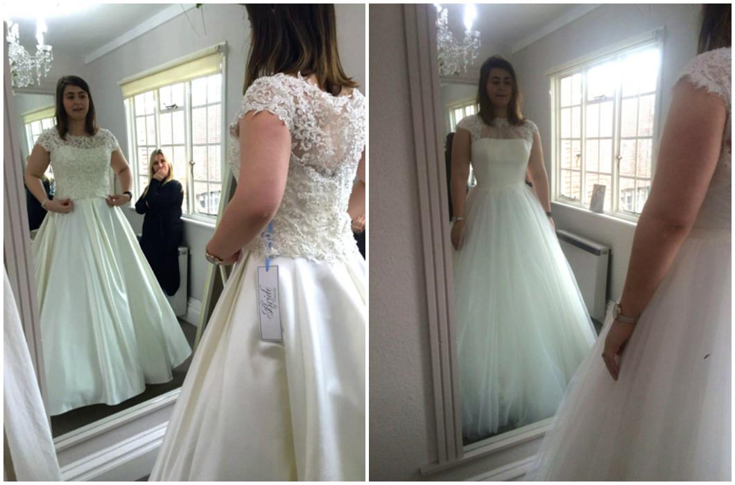 Wedding Dress Shopping 6 Marvelous I tried on a