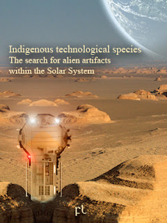 Indigenous technological species: The search for alien artifacts within the Solar System Cover