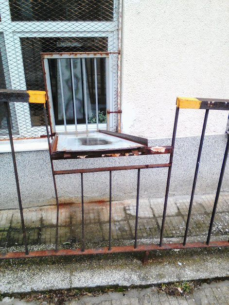 Slide, Postal, Delivery, System, Yambol, Window, Fence,