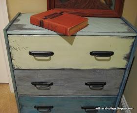 Salt Marsh Cottage Sundance Paintbox Side Table Knock Off
