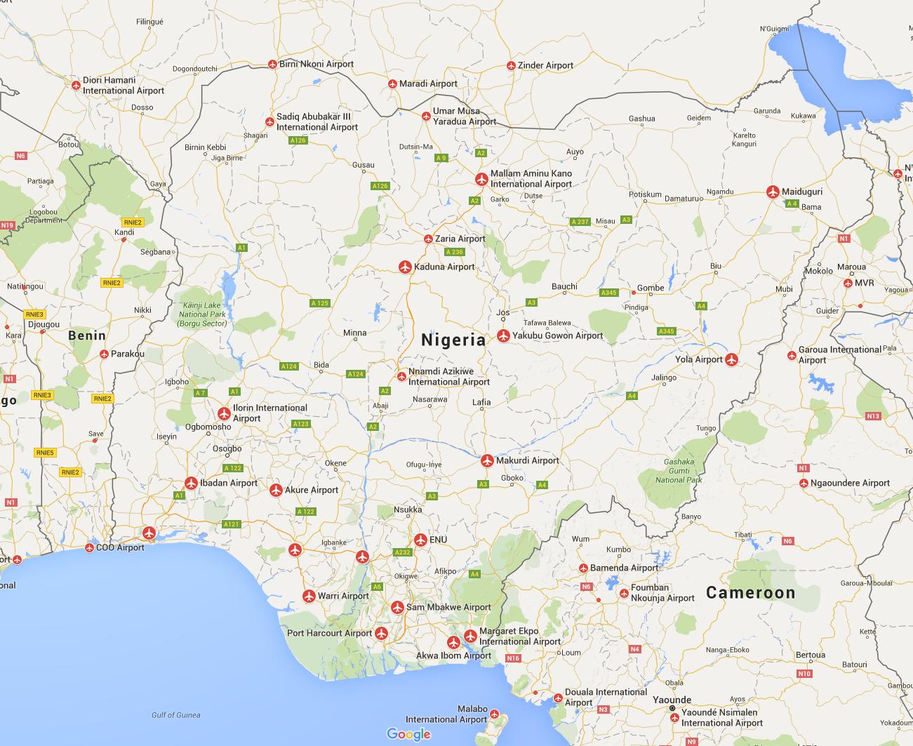 Airports Nigeria