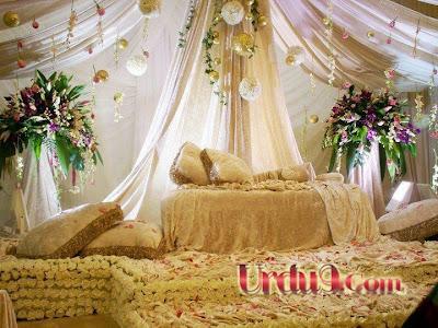 Bedroom Decoration For Wedding Night - Home Design Inside