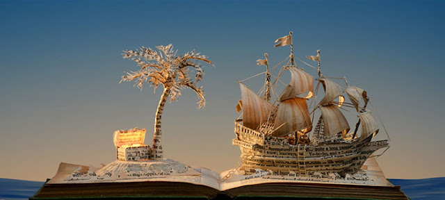 立体的で幻想的な本。本の世界が飛び出す!?10枚 トレジャーアイランド