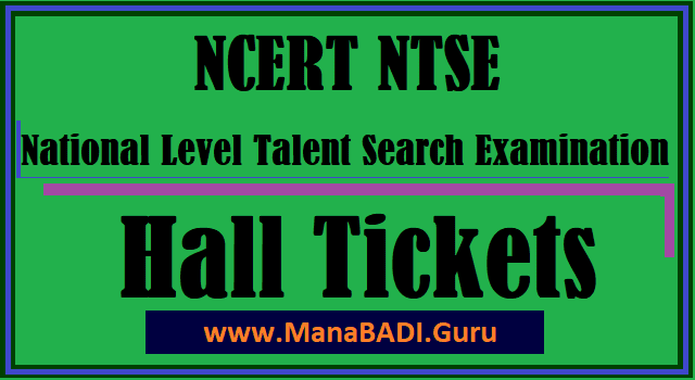 NTSE, AP NTSE, National Level Talent Search Examinaton, AP Hall Tickets, AP Scholarship, AP Schools, Hall Tickets