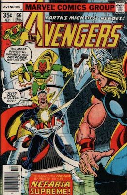 Avengers #166, Count Nefaria
