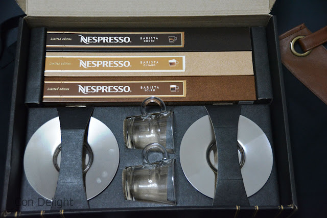 קפסולות נספרסו בריסטה מהדורה מוגבלת limited edition barista nespresso