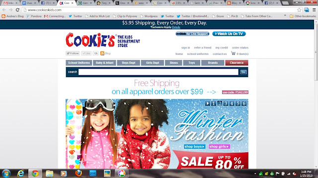Kids online clothing site