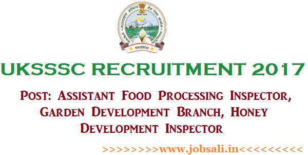 UKSSSC Vacancy, Uttarakhand Govt Jobs,